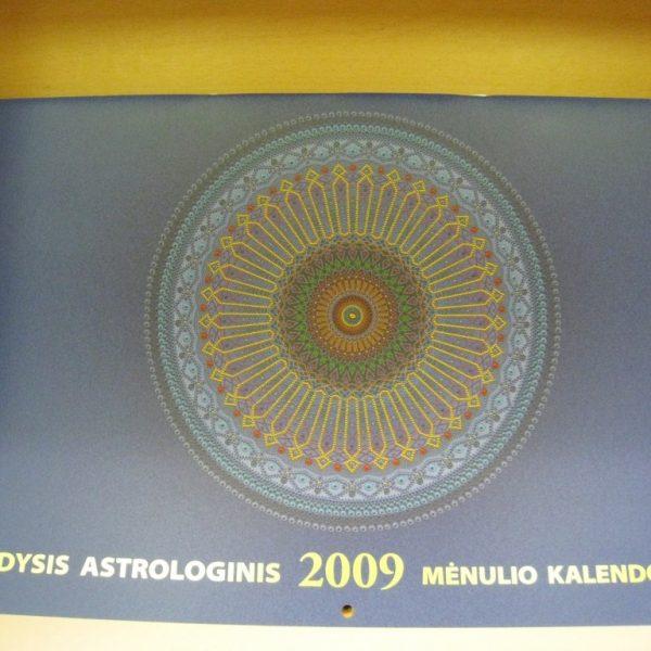 Didysis astrologinis Mėnulio kalendorius 2009