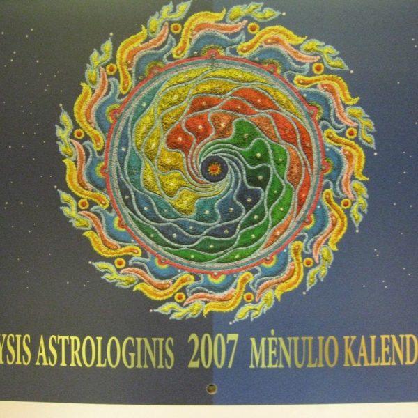 Didysis astrologinis Mėnulio kalendorius 2007