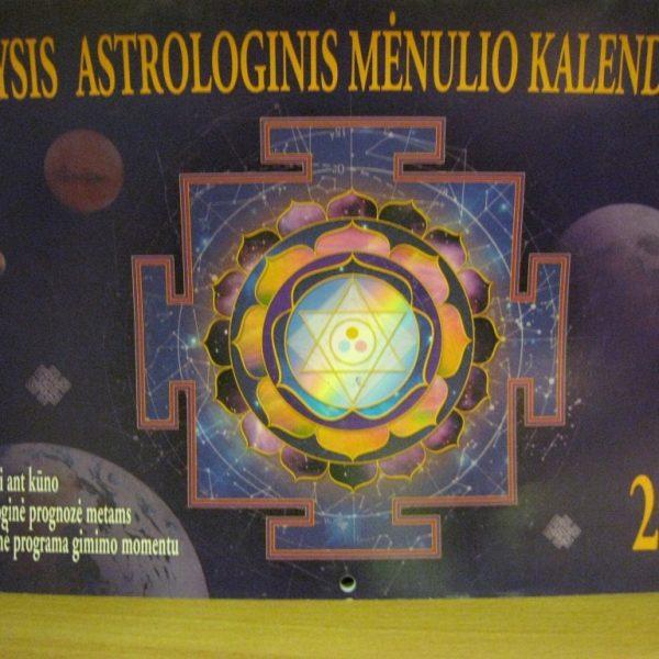 Didysis astrologinis Mėnulio kalendorius 2003