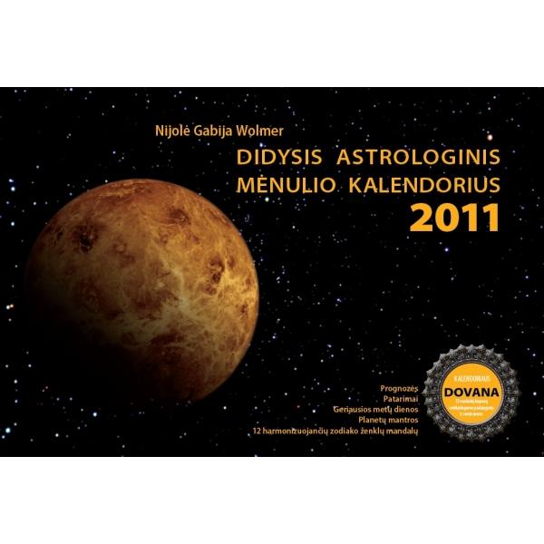 Didysis astrologinis Mėnulio kalendorius 2011