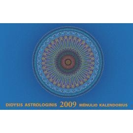 Didysis astrologinis Menulio kalendorius 2009