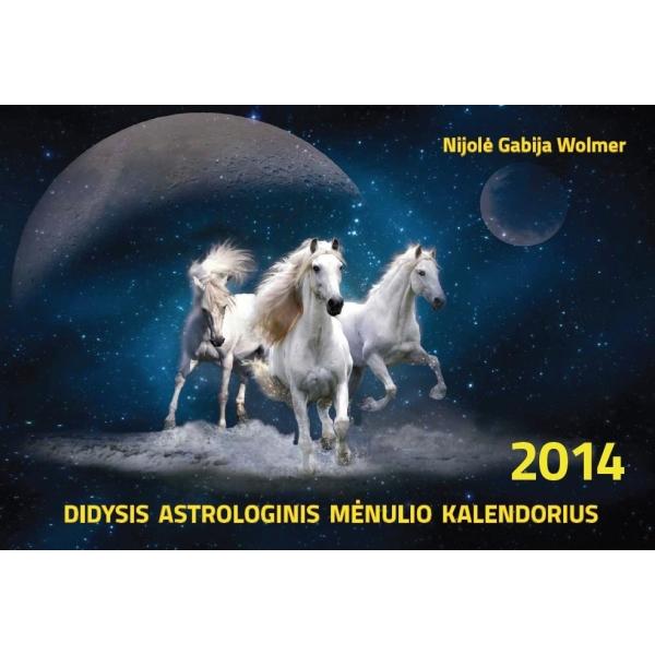 Didysis astrologinis mėnulio kalendorius 2014