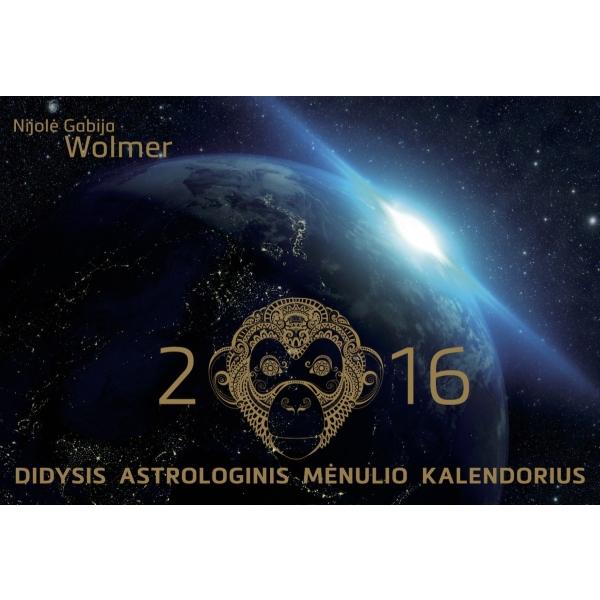 Didysis astrologinis Mėnulio kalendorius 2016