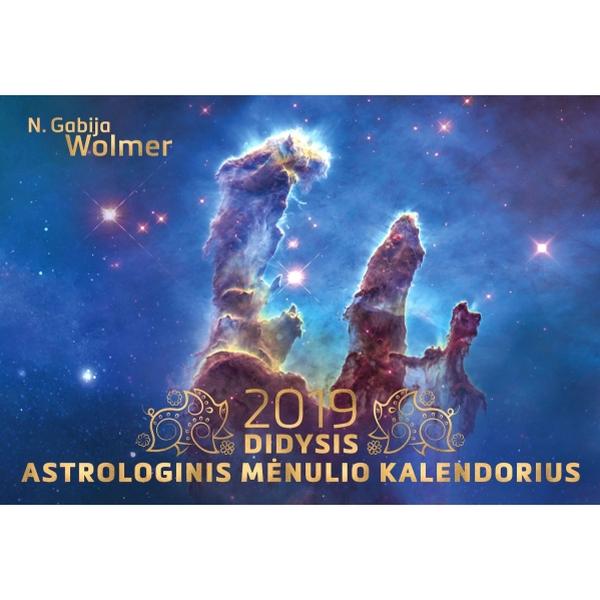 N. G. Wolmer 2019 Didysis astrologinis mėnulio kalendorius